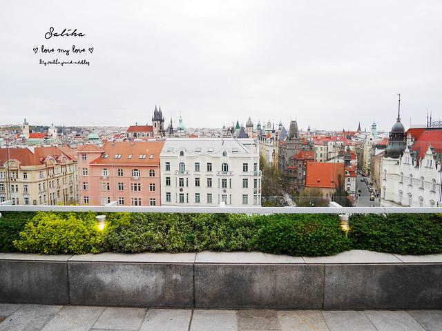 布拉格夜景景觀餐廳推薦洲際酒店晚餐 (15)