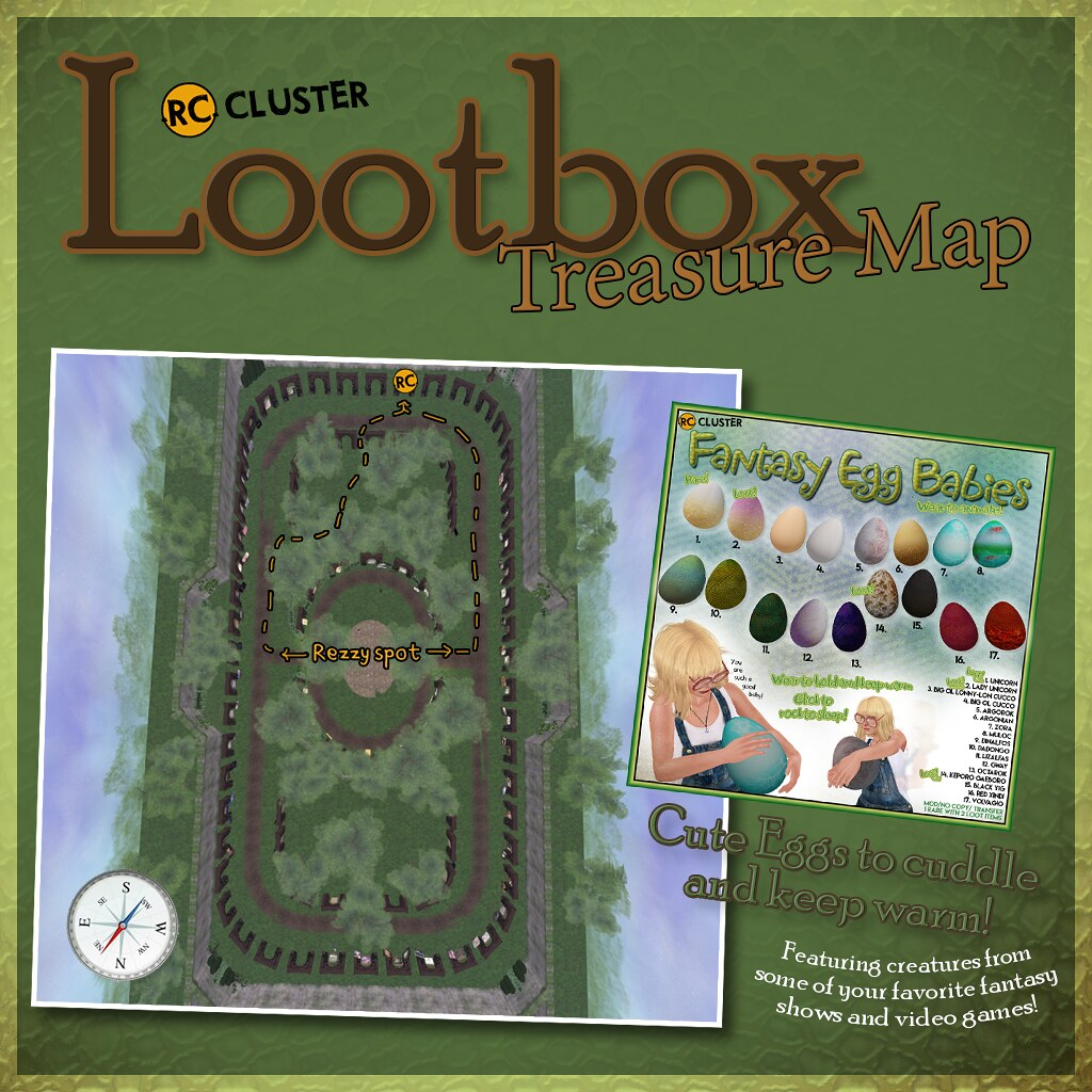 -RC- Cluster at Lootbox! - SecondLifeHub.com
