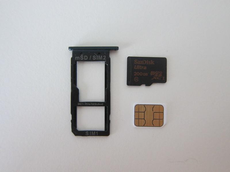 HTC U Ultra - SIM Tray