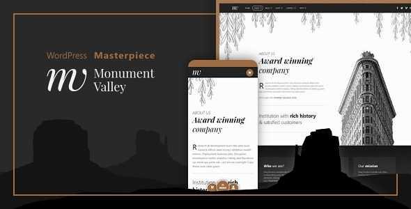 Monument Valley WordPress Theme free download
