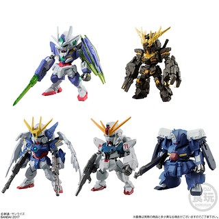 FW GUNDAM CONVERGE 特選機體「真實配色」篇章! SELECTION [REAL TYPE COLOR]