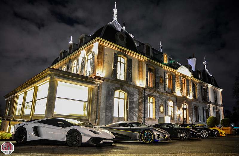 Koenigseg Agera R prototype, CCX, Agera RS ML, Lamborghini Aventador SV