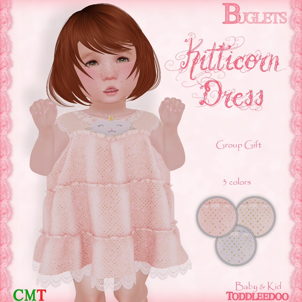 TD Kitticorn Dress (GG) - SecondLifeHub.com