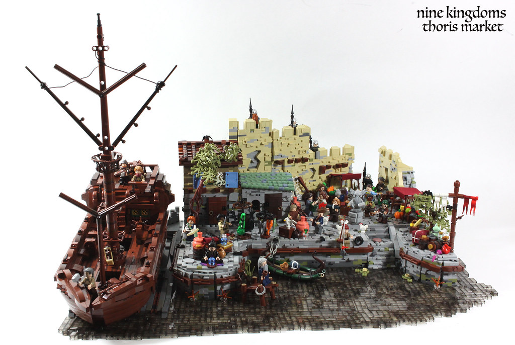 C6 – Thoris Market (custom built Lego model)