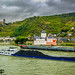 Rhine River Castles - Toll Station Pfalzgrafenstein and Castle Gutenfels