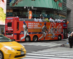 Mets Tour Bus