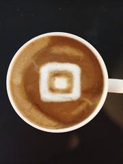 Today's latte, Square.