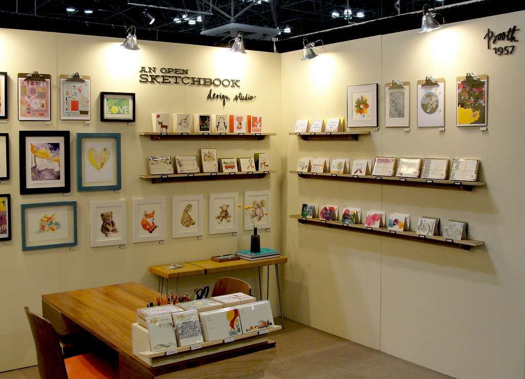 national stationery show 2013 an open sketchbook booth