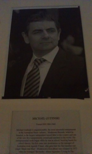 Distinguished Old Boy: Michael Gudinski?