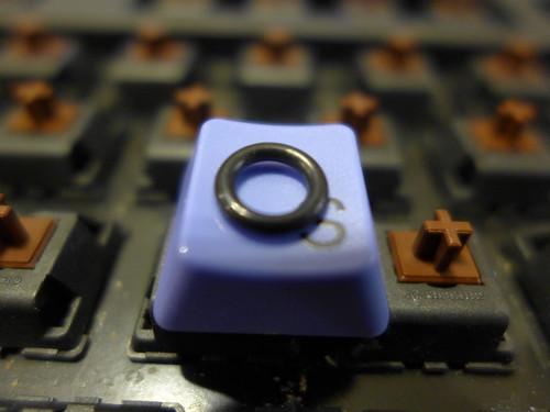 機械鍵盤加裝O環