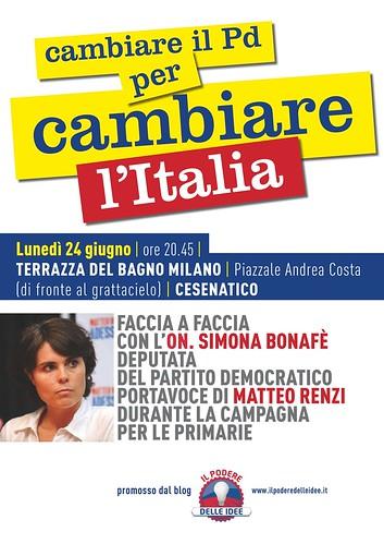"""""""CAMBIARE IL PD PER CAMBIARE L'ITALIA"""""""