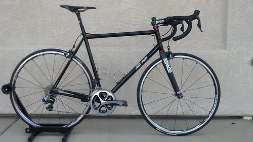 With Dura Ace wheels