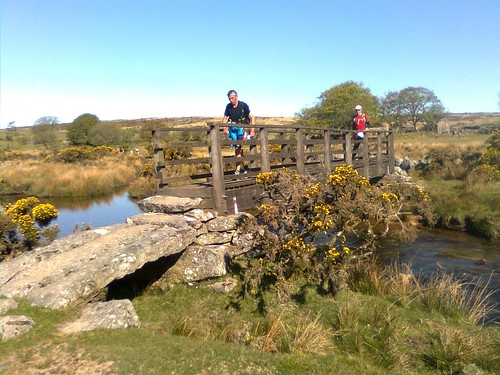 Crossing the River Swincombe - Mile 70