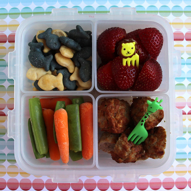 Preschool Animal Picks Bento #464
