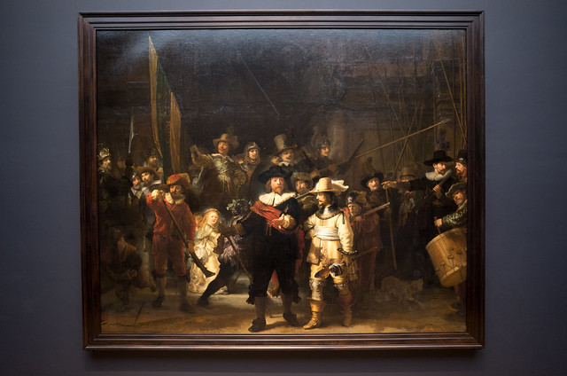 アムステルダム国立美術館 レンブラント 夜警