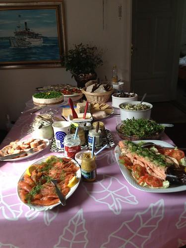 Midsummer feast in Sweden
