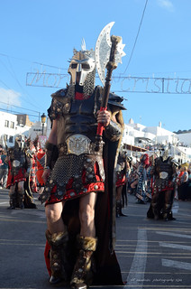 Parade of the Moors & Christians Festival/ Mojácar 2013/ Almeria Spain