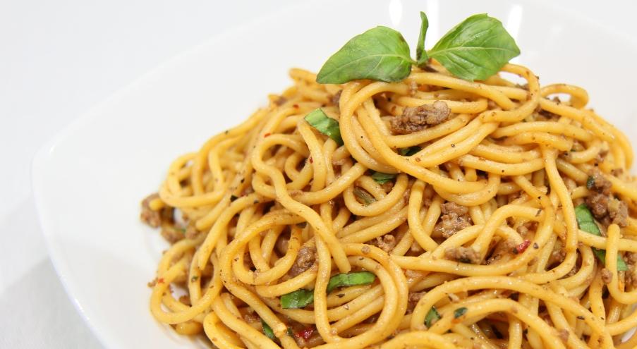 Spaghetti Basil