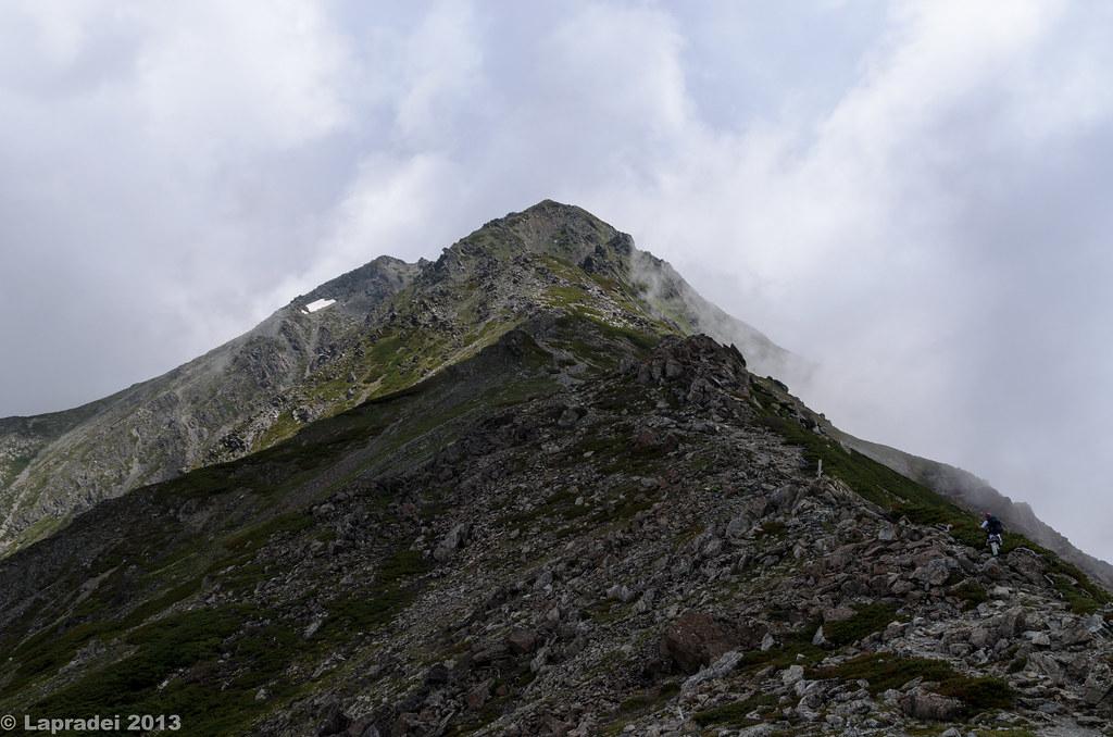 20130630 雲沸き立つ稜線