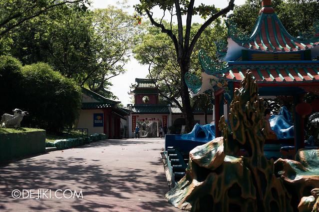 Haw Par Villa - entrance gardens 2