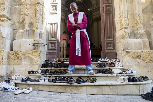 Orthodox church in Valletta / Malta
