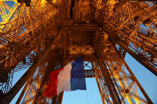 Bastille Day on the Eiffel Tower