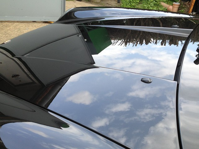Porsche Targa Enhancement Detail