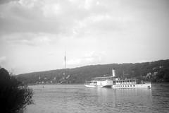 (Agfa Billy I 1931) Dresden, Elbe, Weiße Flotte, Raddampfer - paddle steamers, White Fleet