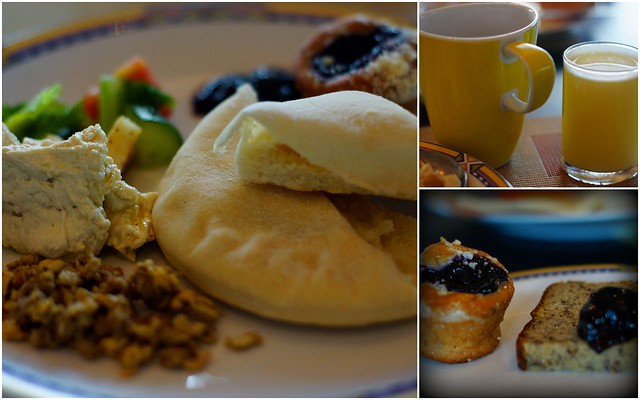 Breakfast buffet at the Amari Watergate
