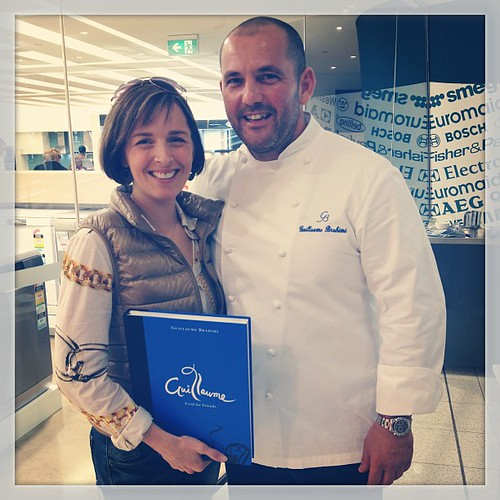 Oh you know, just hanging out w Guillaume Brahimi ;D such a lovely man! #samsungkitchen