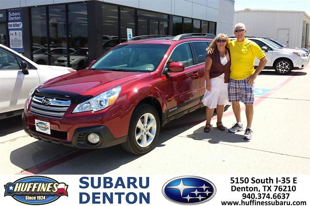 Thank You To Rodney Henry On The 2014 Subaru Outback From