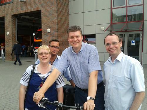 Sommertour durch Harburg mit dem Vorsitzenden der SPD Bürgerschaftsfraktion Dr. Andreas Dressel