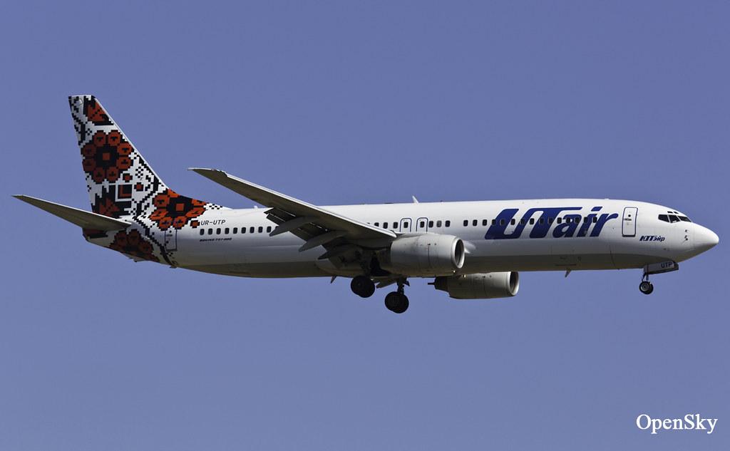 UTair-Ukraine Boeing 737-8Q8 UR-UTP