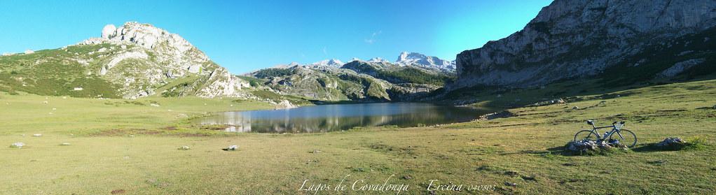 Panoramica Lago de la Ercina 2013