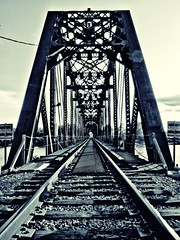 Monroe Louisiana Ouachita River train bridge