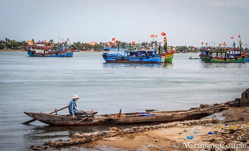 Dong Hoi Fishing Boat Vietnam