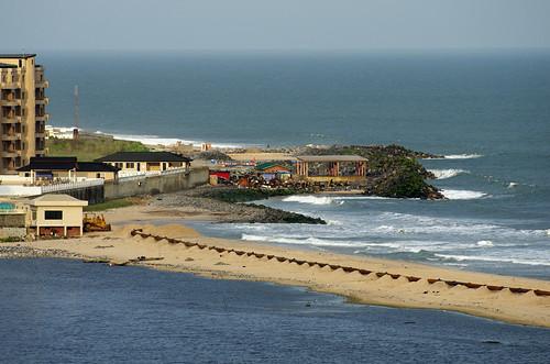 ocean africa sea beach bar island hotel sand view victoria lagos nigeria vista overlook eko victoriaisland barbeach ekohotel
