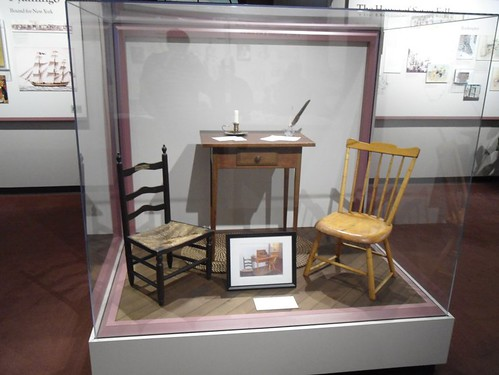 Elizabeth Ann Seton's desk and chairs