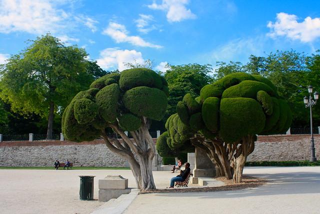 Retiro Park, Madrid, Spain