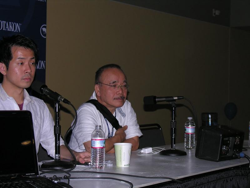 Masao Maruyama answers questions at an Otakon 2013 Q&A