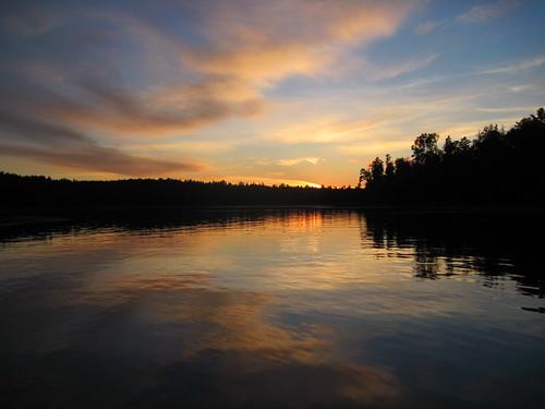 sunset summer minnesota fishing cabin cranelake northwestbay voyageursnationalpark cranelakemn