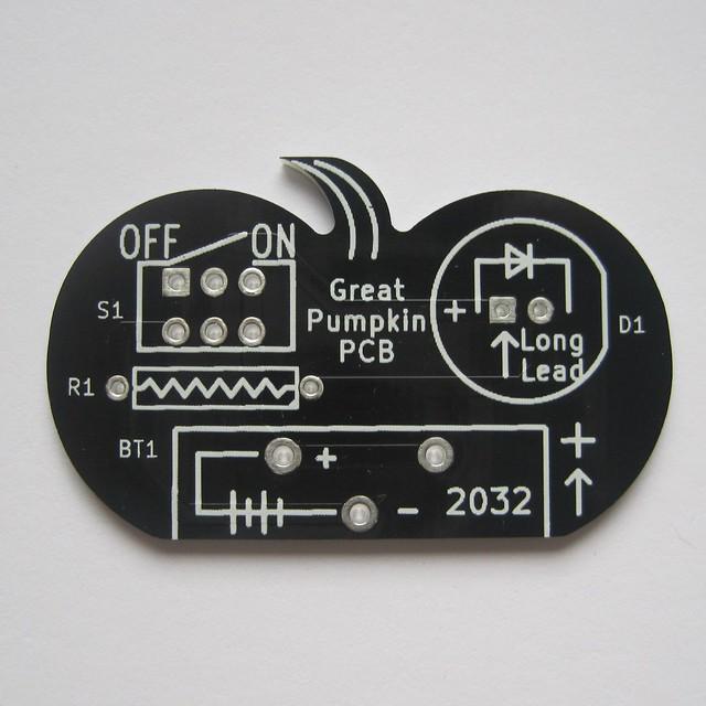 Pumpkin PCB front