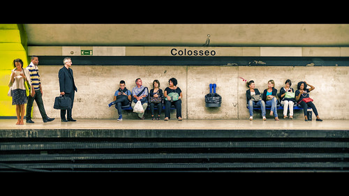 colosseo metro station - rome