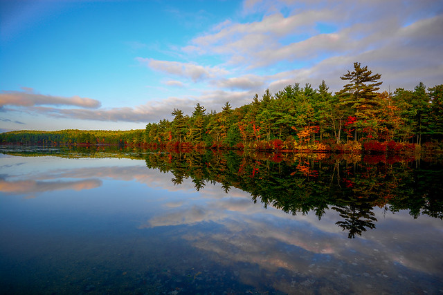Paradise Pond - Leominster State Forest