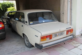 1980s Lada Riva 1300 S
