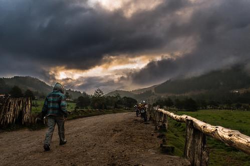 sunset peru atardecer location cajamarca granja sumaq porcon