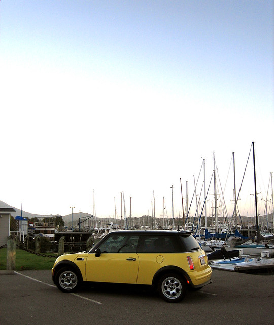My MINI in Sausalito