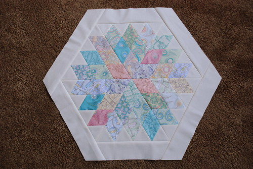 Rock Candy Quilt Top