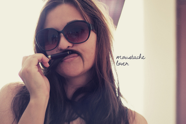 Moustache lover ♥ by *SusieQ*, on Flickr