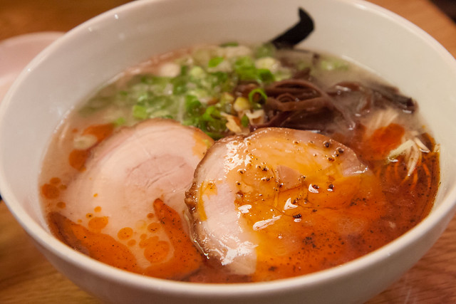 Spicy hakata ramen, Hide-Chan Ramen